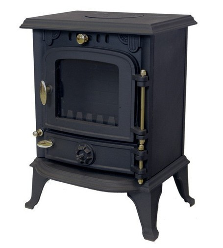 5kw Small Wood Burning Multifuel Stove - Sunrain 13s | Cast Iron Stoves, Wood Stoves, Wood Burners | Astove UK | Scoop.it