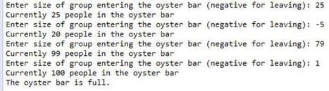 Java - Oyster Bar   Java Homework Help   Scoop.it