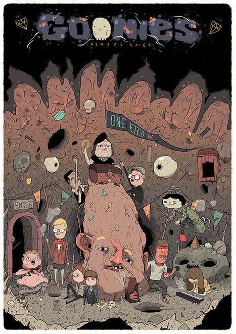 Christian Robles y sus ilustraciones de cuento | El Mundo del Diseño Gráfico | Scoop.it