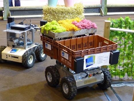 L'agriculture adopte le numérique et la robotique | Robotique et pme | Scoop.it