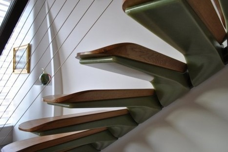 Cantilevered Stairs by Nastasi Architects | Rendons visibles l'architecture et les architectes | Scoop.it