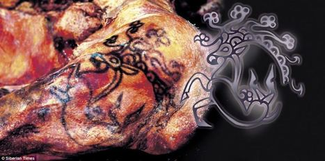 The astonishing 2,500 year old tattoos of a Siberian princess, and how they reveal little has changed in the way we decorate our bodies | Ancient Stones Unturned | Scoop.it