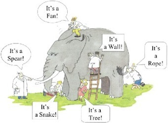 Learning metaphor - understanding of an elephant based on Instructivism, Constructivism and Connectivism | Informed Teacher Librarianship | Scoop.it