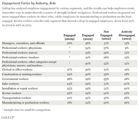 Gallup: There's No One-Size-Fits-All Employee Engagement Strategy | Employee Engagement | Scoop.it