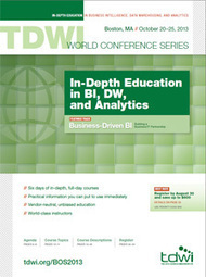 TDWI World Conferences -- TDWI -The Data Warehousing Institute   Payment engine   Scoop.it