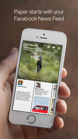3 Predictions for How Facebook's Paper Will Impact Social TV - Lost Remote | Social TV is everywhere | Scoop.it