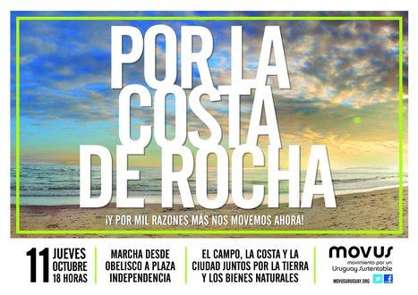 Uruguay / Marcha 11 de Octubre 2012 / Por la costa de Rocha y 1000 razones. | MOVUS | Scoop.it
