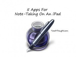 5 Apps For Note-Taking On An iPad   iPad Apps for Education   Scoop.it