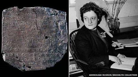 The unsung heroine who helped decode Crete's ancient script   Ancient Origins of Science   Scoop.it
