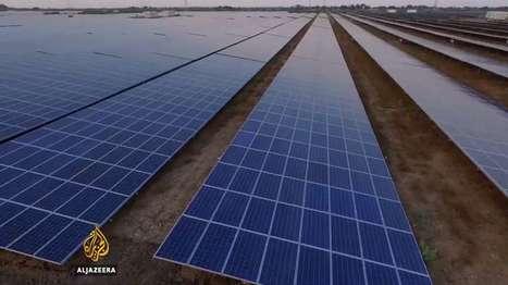 Énergie solaire : l'Inde inaugure la plus grande centrale photovoltaïque actuelle   Energies Renouvelables   Scoop.it