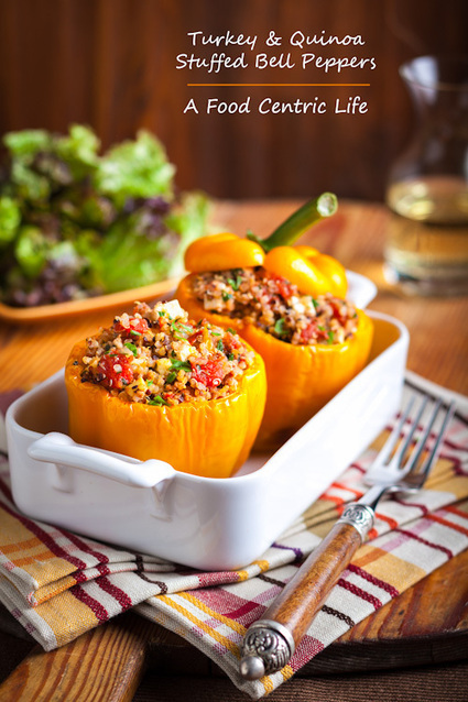 #HealthyRecipe - Turkey and Quinoa Stuffed Bell Pepper | Eat Healthy | Scoop.it