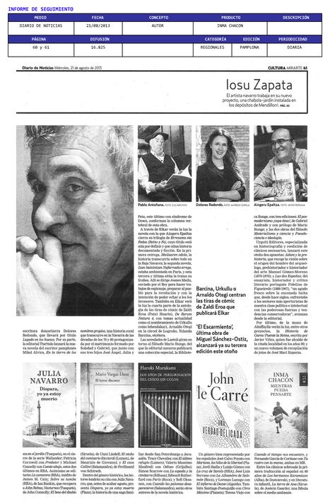 Diario de Noticias | Inma Chacón | Scoop.it