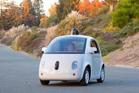 La Google Car présente son look définitif | All things marketing | Scoop.it