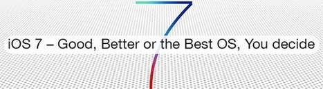 iOS 7 Reviews and Features – Good, Better or the Best Apple OS @Cygnismedia | Update All News | Scoop.it