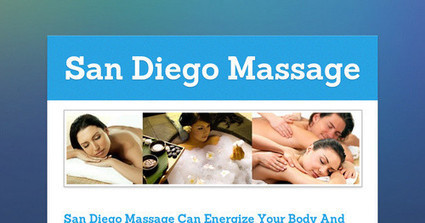 San Diego Massage Can Energize Your Body And Mind | Beauty Kliniek Aromatherapy Day Spa & Wellness Center | Scoop.it