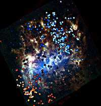 National Optical Astronomy Observatory Press Release: NEIGHBOR GALAXY CAUGHT STEALING STARS | Planets, Stars, rockets and Space | Scoop.it