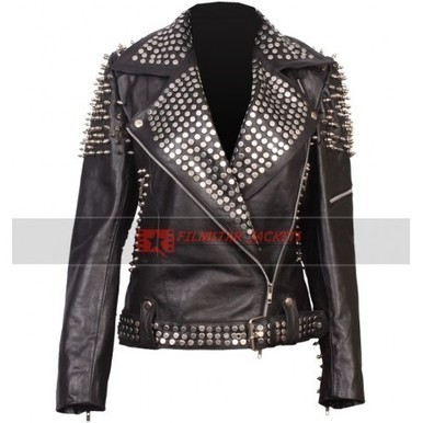 Britney Spears Till The World Ends Studded Spiked Jacket | Film Star Jackets | Scoop.it