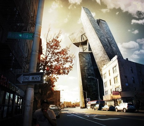 Photoshop tutorial: Composite a 3D building into a photo | iTutorials | Scoop.it