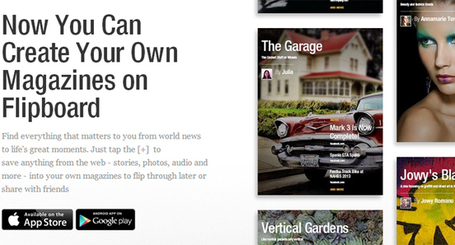 Social reader Flipboard's new app lets you make your own magazines | memeburn | Public Relations & Social Media Insight | Scoop.it
