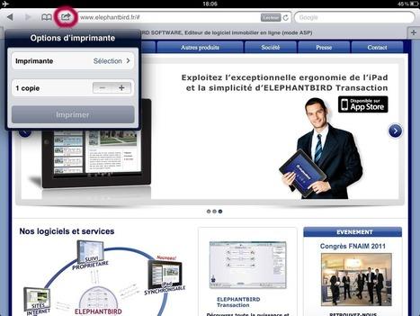Comment imprimer sans fil depuis un iPad ? | Tablettes tactiles et usage professionnel | Scoop.it