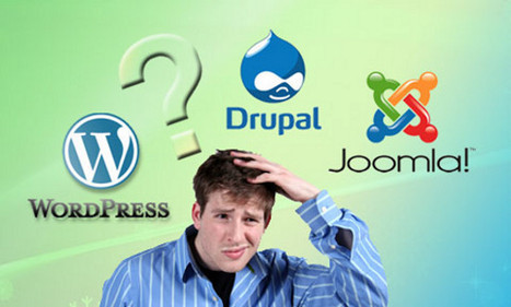 WordPress Vs Joomla Vs Drupal Which One is Best and Why? | Lectures web | Scoop.it
