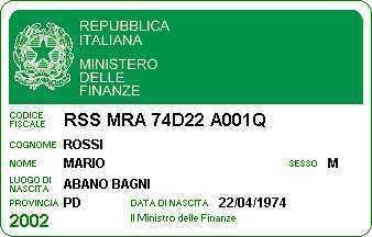 Huizenjacht Italië - Wat is een Codice Fiscale ? | Marche House | Scoop.it