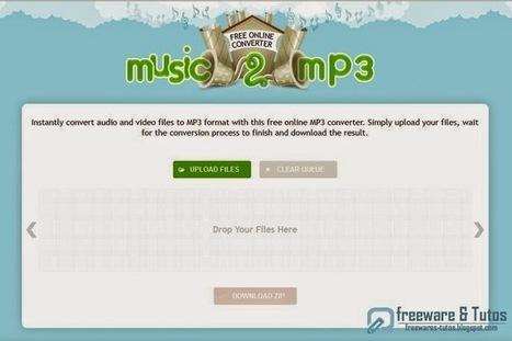 Music2mp3 : un service en ligne pratique pour convertir ses fichiers audio et vidéo en MP3 | netnavig | Scoop.it
