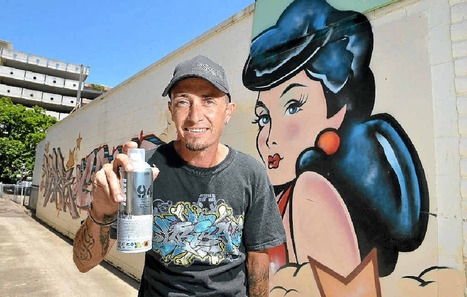 Graffiti supplies store hopes to popularise street artists - Fraser Coast Chronicle | Street art news | Scoop.it