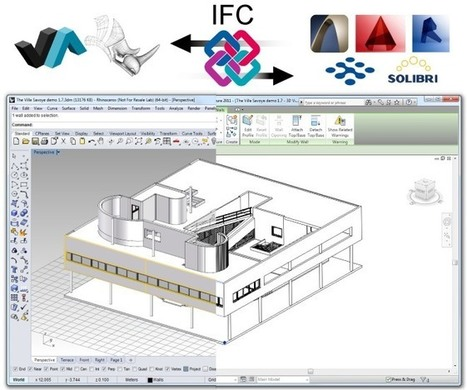 VisualARQ 1.9 available - 3D Architecture for Rhino - Architectural software | VisualArq. Free-form 2D & 3D architecture modeling tools for Rhinoceros. | Scoop.it