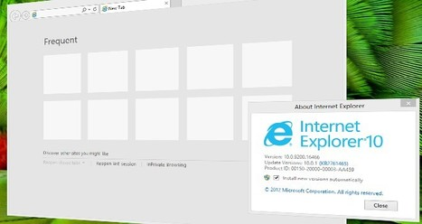 Internet Explorer 10 ya disponible para #Windows7 | Desktop OS - News & Tools | Scoop.it