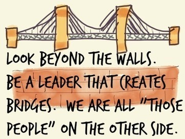 Leaders Build Bridges Not Walls - Break The Frame | Creative Writing | Scoop.it