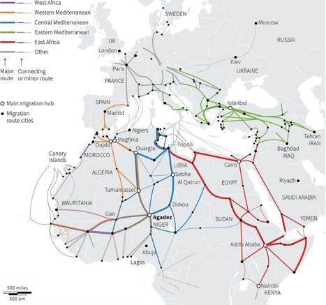 Europe's migration crisis [Reuters Graphic] | DataViz | Scoop.it