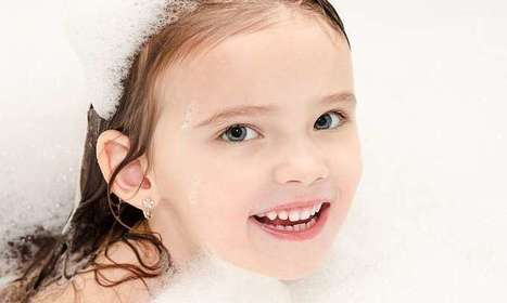 Daily baths not a must for kids | Sustain Our Earth | Scoop.it