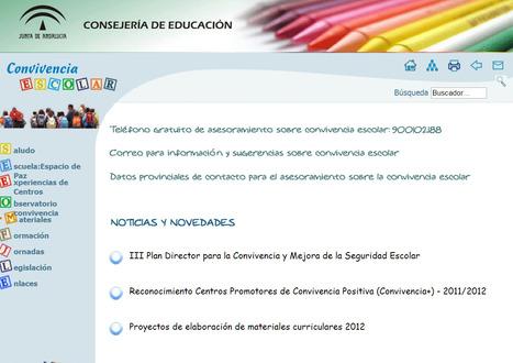 Convivencia Escolar - Consejería de Educación | tecnología y aprendizaje | Scoop.it
