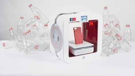 Una impresora 3D que utiliza botellas plásticas como materia prima | Information Technology & Social Media News | Scoop.it