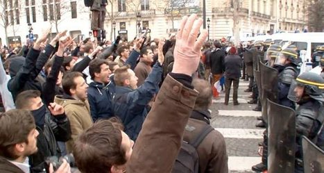 French right-wingers march in Paris yelling `Jews, get out of France!` | Daily Crew | Scoop.it