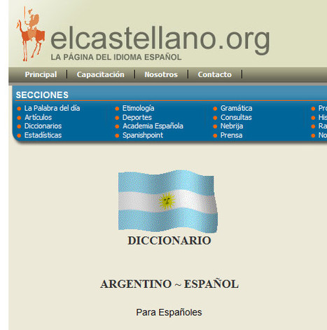 Castellano - La Página del Idioma Español = El Castellano - Etimología - Lengua española | Ejercicios de Español | Scoop.it