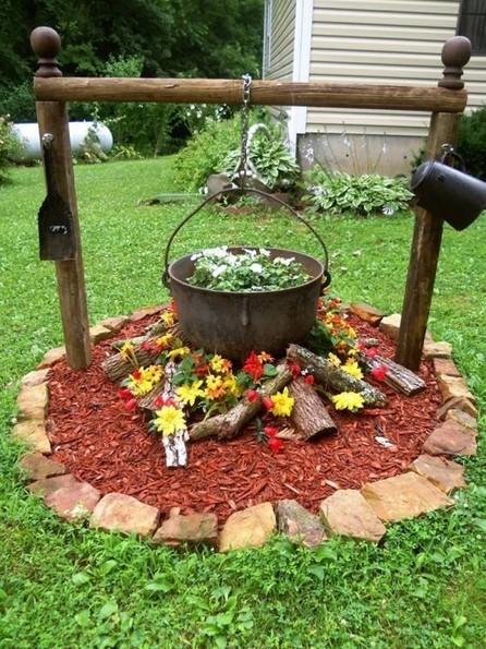 DIY Outdoor Garden Well | DIY Craft Ideas For The Home | Scoop.it
