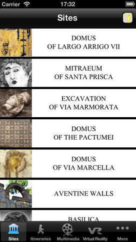 Scopri la Roma archeologica con 2 App | Mundo Clásico | Scoop.it
