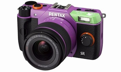 Pentax shows NERV, flashes Japan-only Evangelion-flavored Q10s | Anime News | Scoop.it