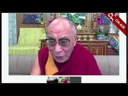 Dalái Lama y Desmond Tutu se comunicaron con Google Plus Hangout | VIM | Scoop.it