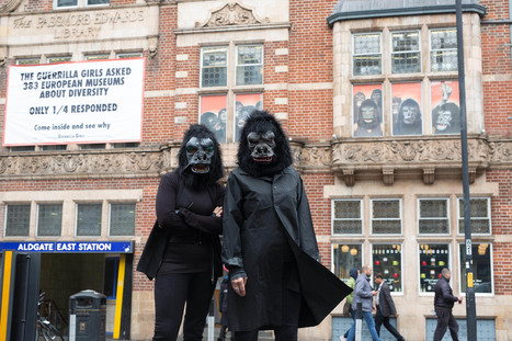 Guerrilla Girls: Is it even worse in Europe? - Whitechapel Gallery | Gender and art | Scoop.it
