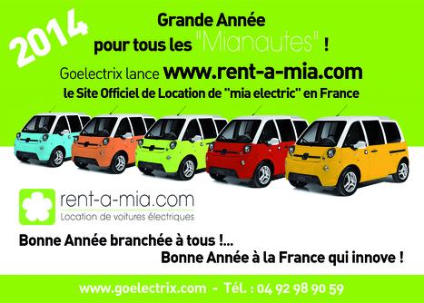 Location véhicule électrique louer voiture électrique | Rent-A-Mia | Rent a mia | Scoop.it