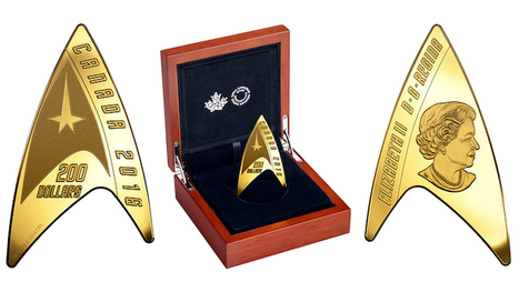 "Canada Has ""Star Trek"" Coins That Can Actually Be Used as Currency 