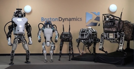 Toyota va racheter les robots de Boston Dynamics à Google | Post-Sapiens, les êtres technologiques | Scoop.it