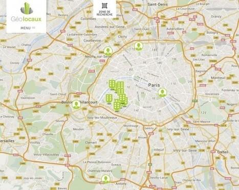 Geolocaux place vos salariés au cœur de la recherche de bureaux | Immobilier | Scoop.it
