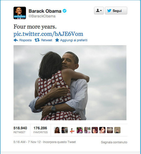"Obama: four more years! | L'impresa ""mobile"" | Scoop.it"