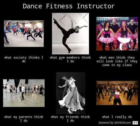 Dance Fitness Instructor | What I really do | Scoop.it
