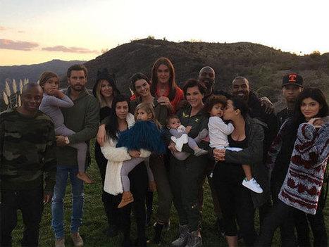 Kardashians Celebrate Thanksgiving Together: Scott, Caitlyn & Tyga Also Seen! | Celebrity Entertainment News | Scoop.it
