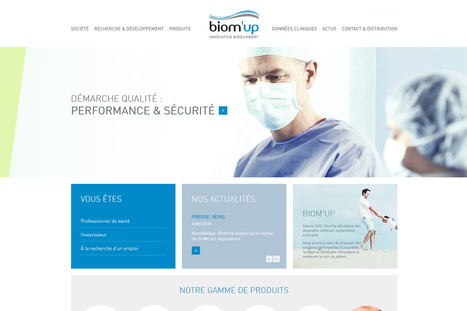 Biom'Up lève 31,3 millions d'euros pour faire homologuer l'Hemoblast   Ma santé et le digital francophone   Scoop.it